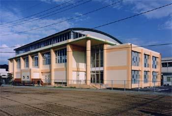 御船町立小坂小学校 体育館