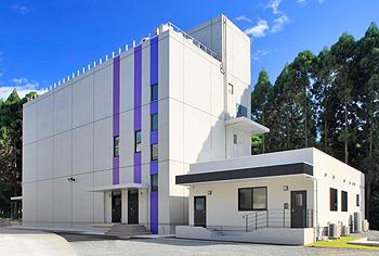 (財)化学及血清療法研究所 動物管理棟