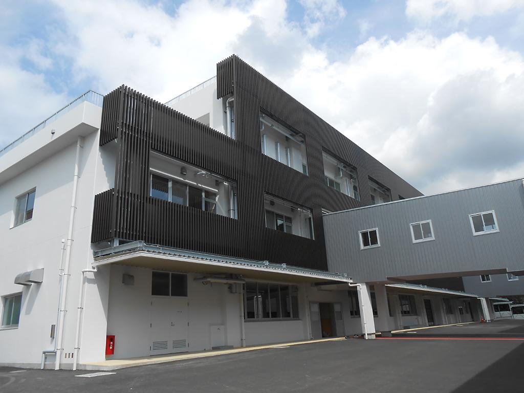 熊本県立翔陽高等学校 実習棟