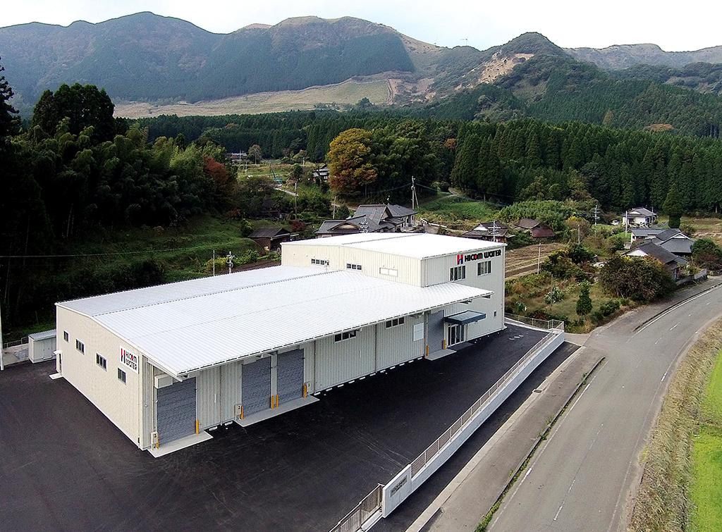ハイコムウオーター(株)南阿蘇村工場 新築