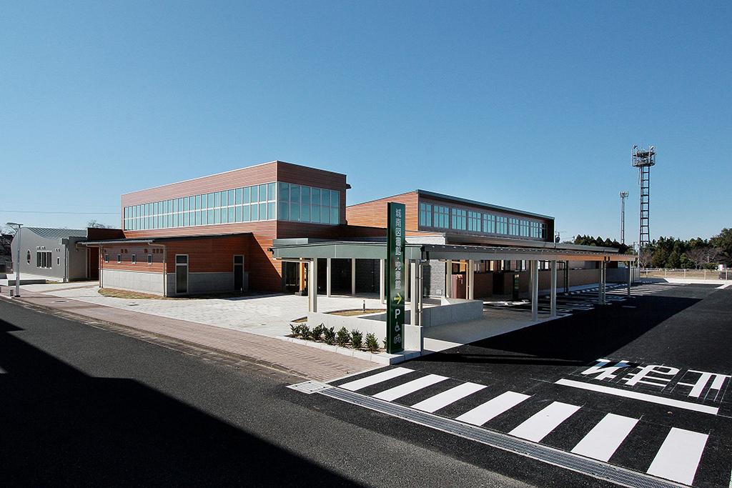 熊本市立城南図書館・熊本市城南児童館