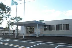 (株)興人八代工場新事務所  展示スペース・会議室