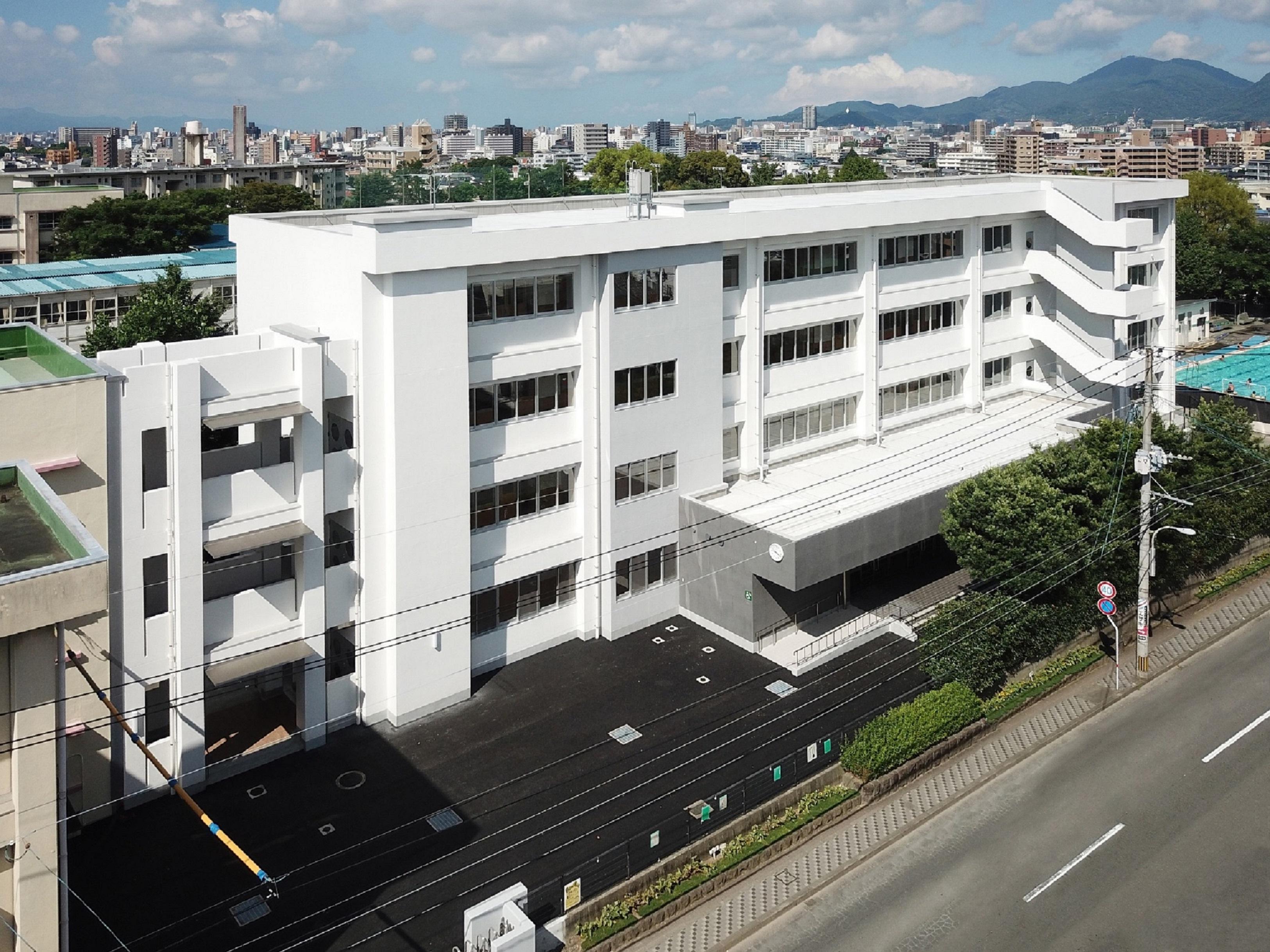 熊本市立帯山中学校